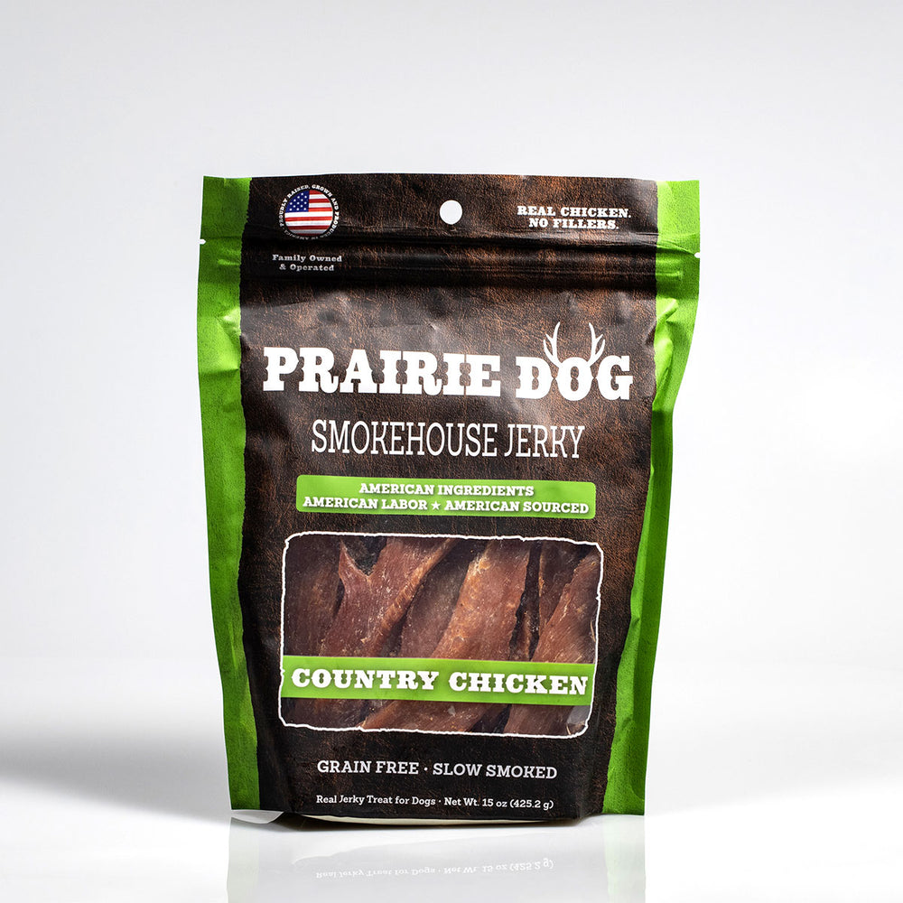 Smokehouse Jerky Country Chicken Dog Treats, 15-oz bag
