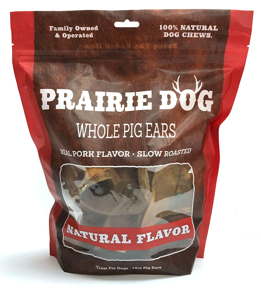 Smoked Pig Ears - 12 Count