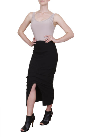 Atlantic Skirt, Jet Black