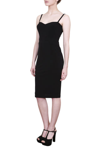 Duchess Dress, Black