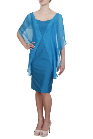Eleanor Dress, Turquoise