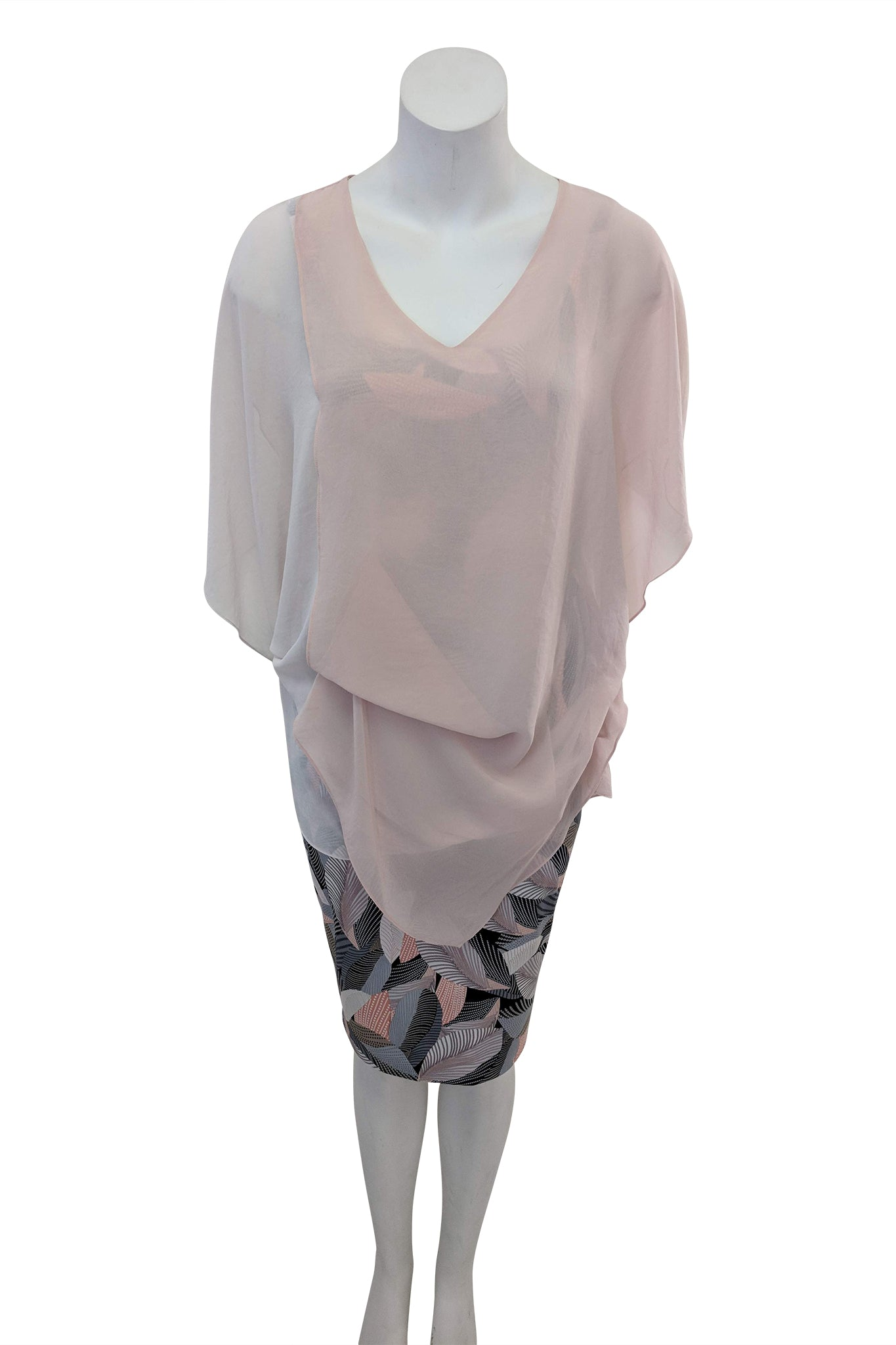 Breeze Top, Pink Hue