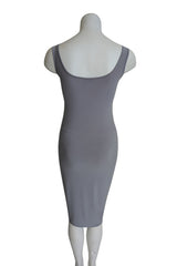 Slip Dress, Grey