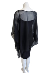 Mine Only Top, Black Silk