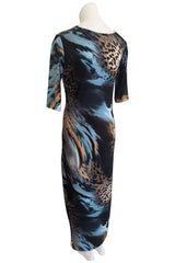 Manhattan Dress, Blue Lagoon