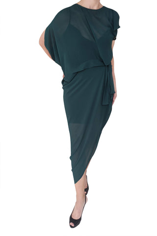 Jadore Dress, Deep Sea