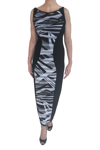 Aztec Maxi, Black/White Panel