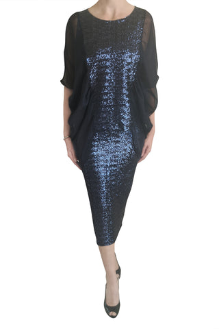Whisper Top, Midnight Sequin