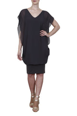 Georgette layered dress