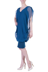 Janine Dress, Marine