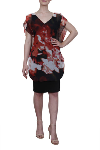 Janine Dress, Scarlet