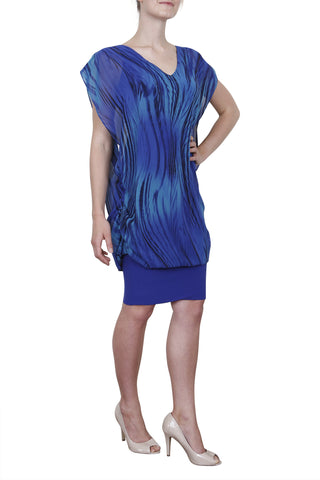 Janine Dress, Seaspray