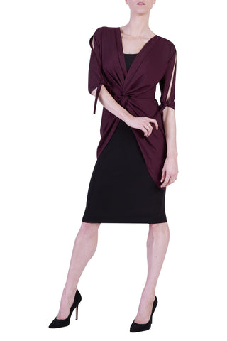 Perla Top, Black Cherry