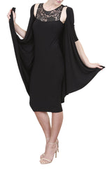 Pina Colada Dress, Black