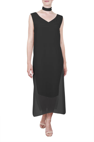 Society Dress, Black