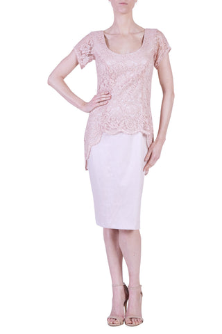 Tango Dress, Peach