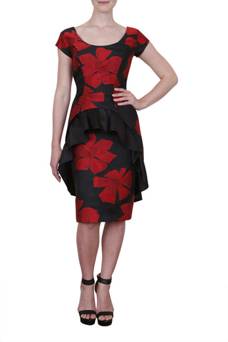 Tango Dress, Spanish Rose