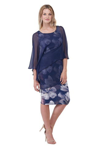 Orchid Dress, Indigo