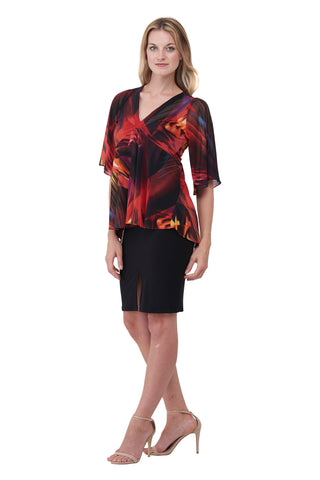 Carnivale Top, Flame