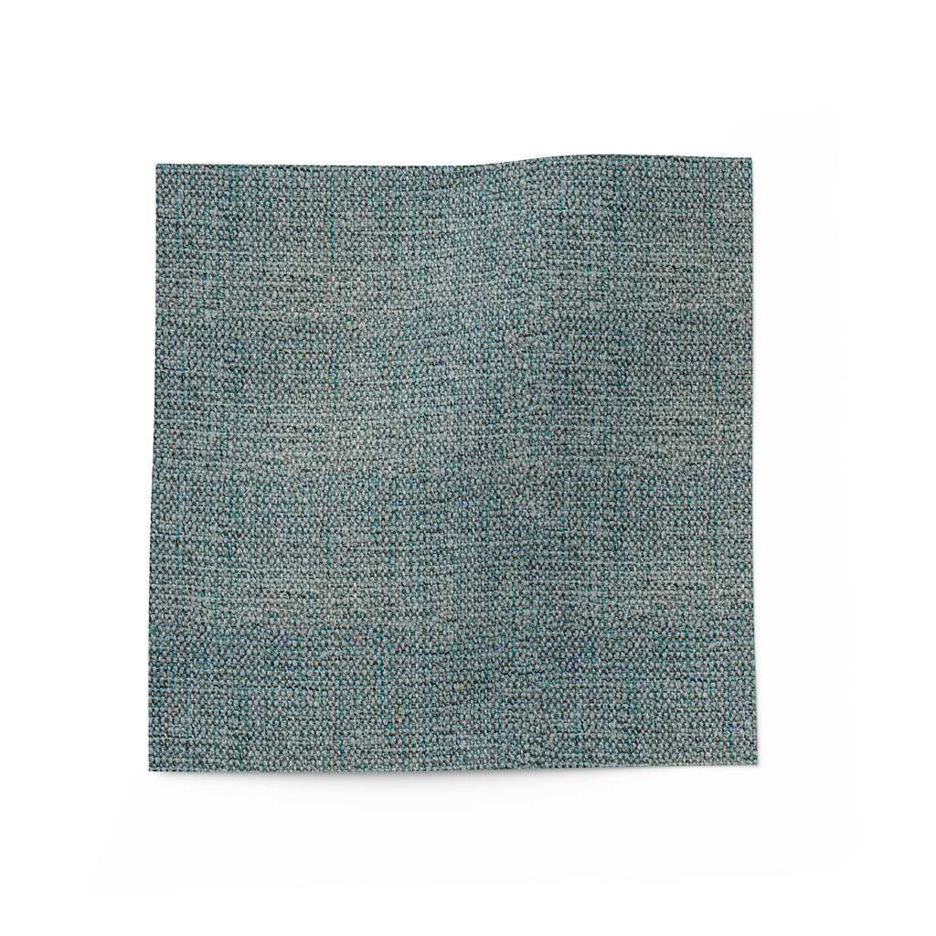 Blue linen fabric for upholstery