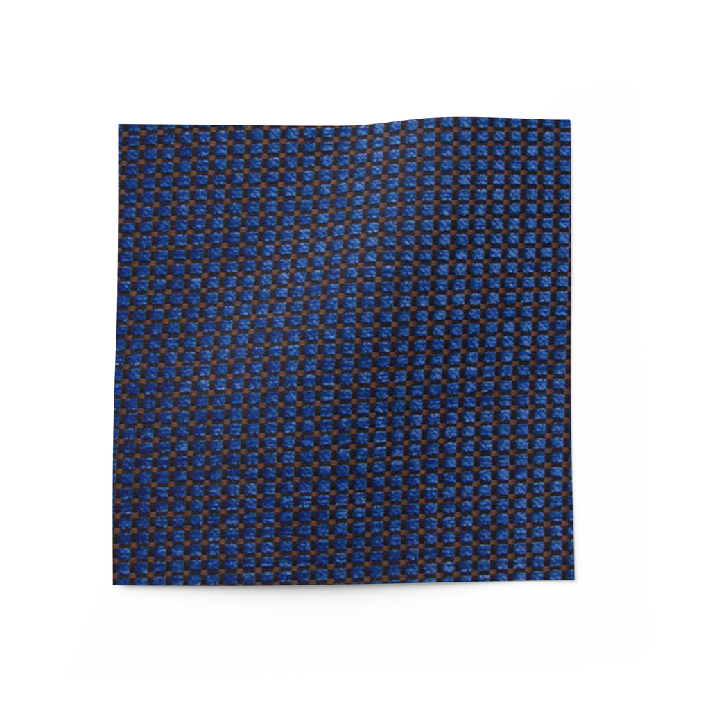 Blue fabric for upholstery