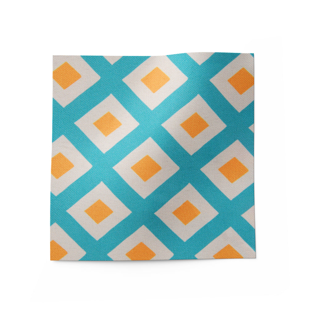 geometric pattern fabric for sofa