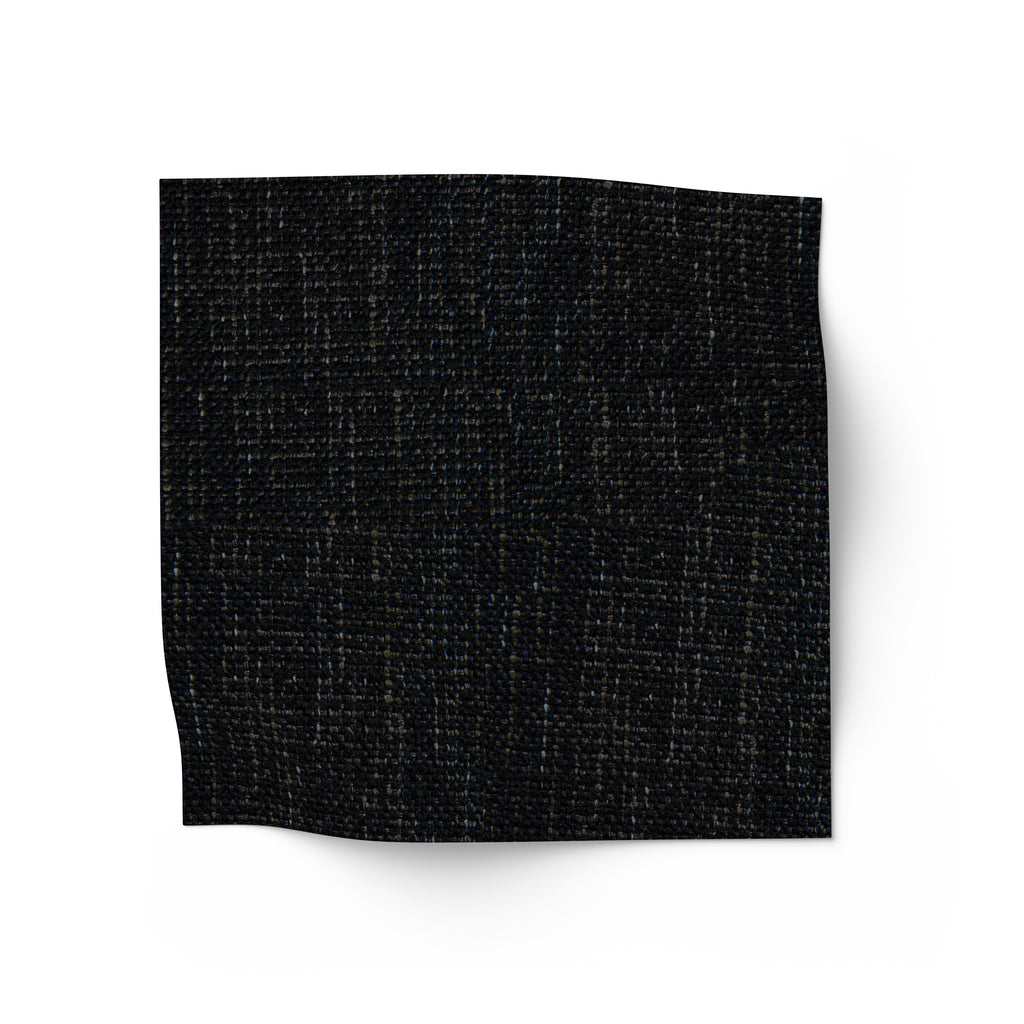 Charcoal Black linen fabric for upholstery