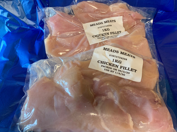 1kg Fresh Chicken Fillets