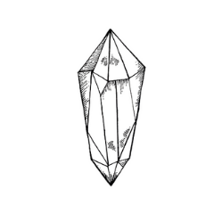 Drawing crystal point