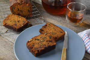 Carrot, Walnut and Raisin Loaf