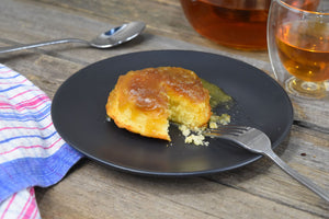 Spiced Golden Syrup Pudding
