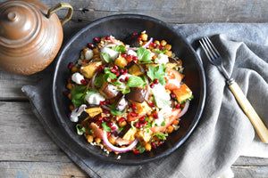 Moroccan Spiced Chickpea Salad