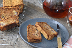 Spiced Banana and Apple Loaf