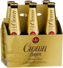 Crown Lager - 6 Pack