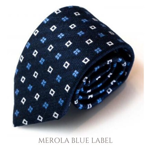 ネクタイ‐MEROLA BLUE LABEL