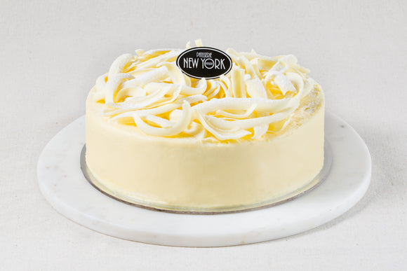 Belgian White Chocolate Mud Cake