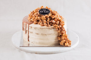 Butterscotch & Date Naked Cake
