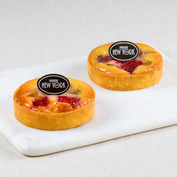 Individual Mango & Strawberry Tarts Box of 6