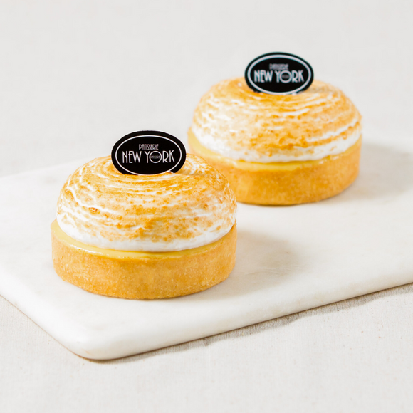 Individual Passion Fruit Meringue Tarts Box of 6