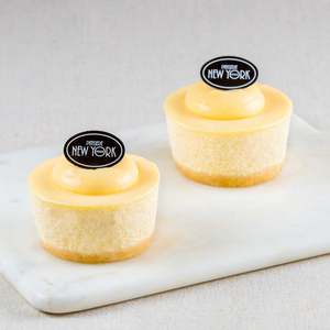 Individual Lemon & Lime Cheesecakes Box of 6