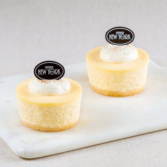 Individual New York Cheesecakes Box of 6