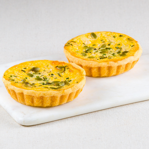 Roasted Butternut Pumpkin Quiches Box of 4