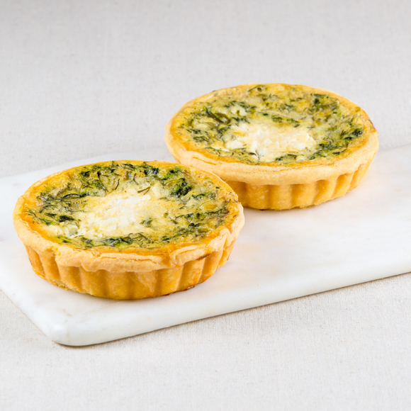 Spinach & Feta Quiches Box of 4