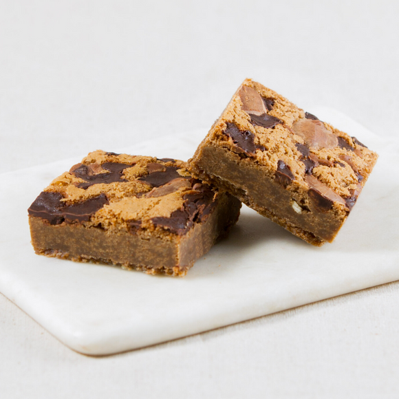 Choc Chunk Cookie Dough Brownie Slices Box of 6