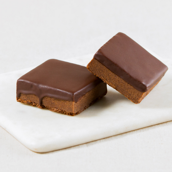 Chocolate Brownie Slices Box of 6
