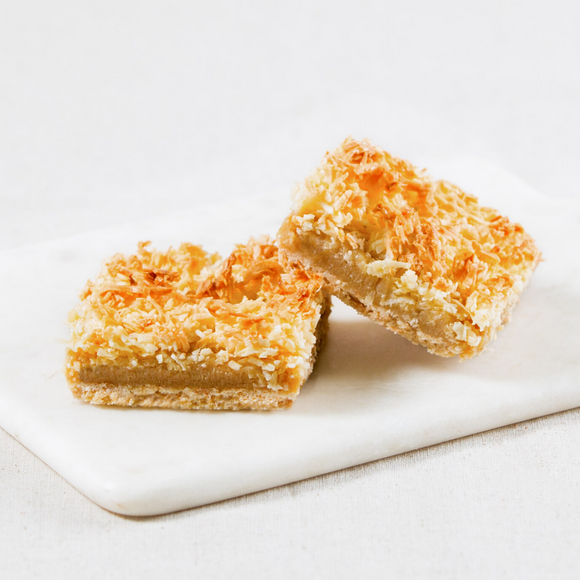 Coconut Caramel Crunch Slices Box of 6