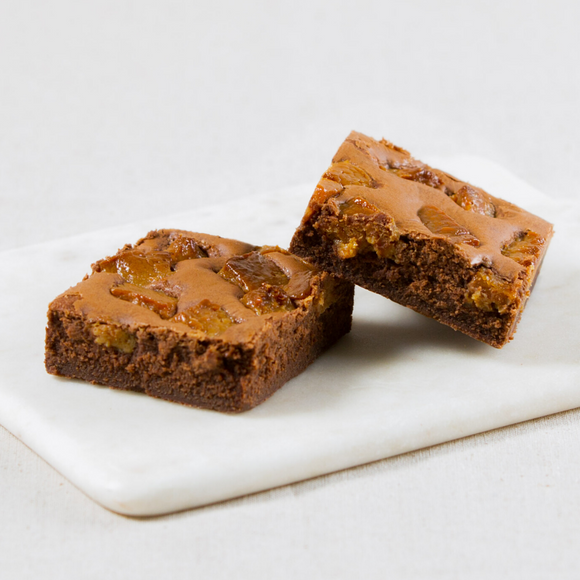 Salted Caramel  Fudge Brownie Slices Box of 6