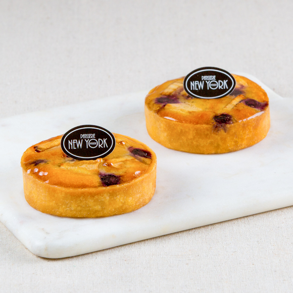 Individual Apple Blueberry Tarts Box of 6