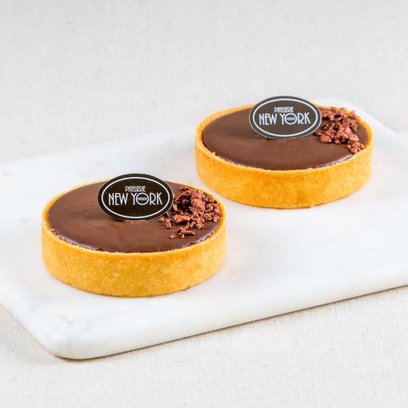 Individual Chocolate & Salted Caramel Tarts Box of 6