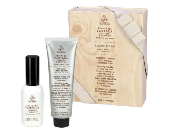 Vanilla - Essential Gift Set